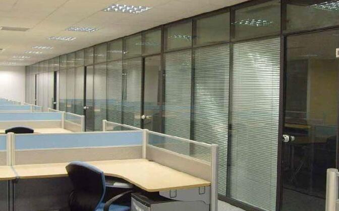 广安办公玻璃隔断
