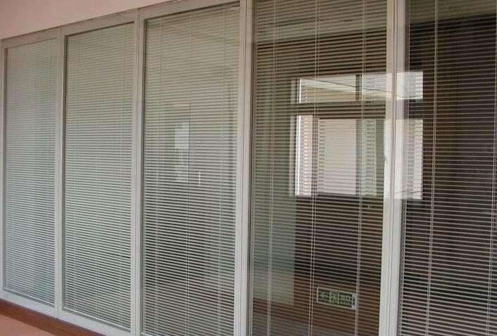 广安百叶玻璃隔断